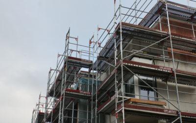 Einbau Fenster und Türzargen