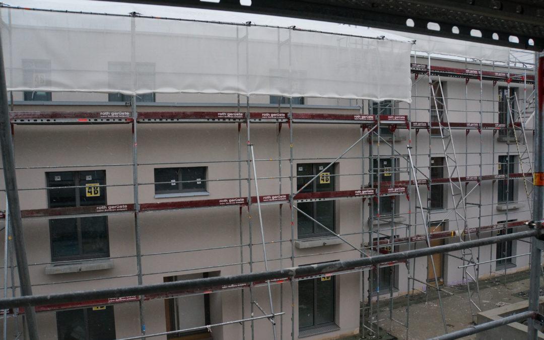 Fassadenabrieb erstellt